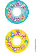 Banner CD-DVD Labels
