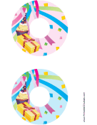Confetti CD-DVD Labels
