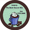 Hot Cocoa Mix (Round) Canning Label