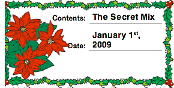 Christmas Holly Canning Label