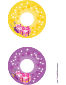 Sparkle CD-DVD Labels