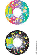 Stars CD-DVD Labels