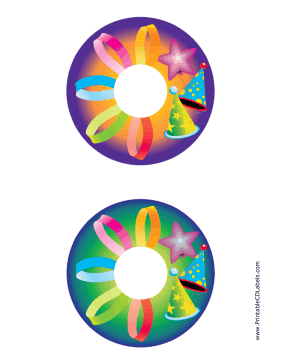Printable Hats CD-DVD Labels