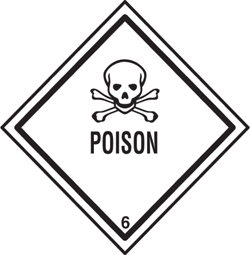Printable Poison Sign