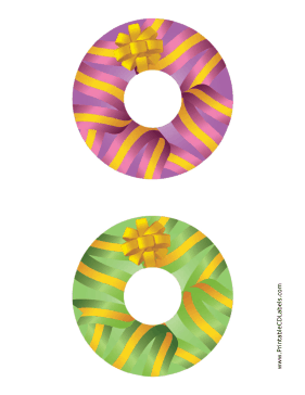 Printable Ribbons CD-DVD Labels