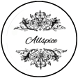 Printable Ornate Spice Labels Tops 1