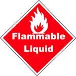 Printable Flammable Liquid Sign